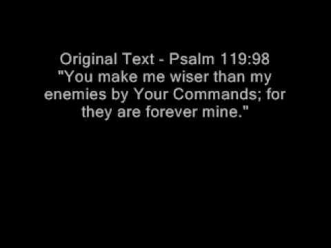 Christian Music Video: Karaoke praise worship song psalm