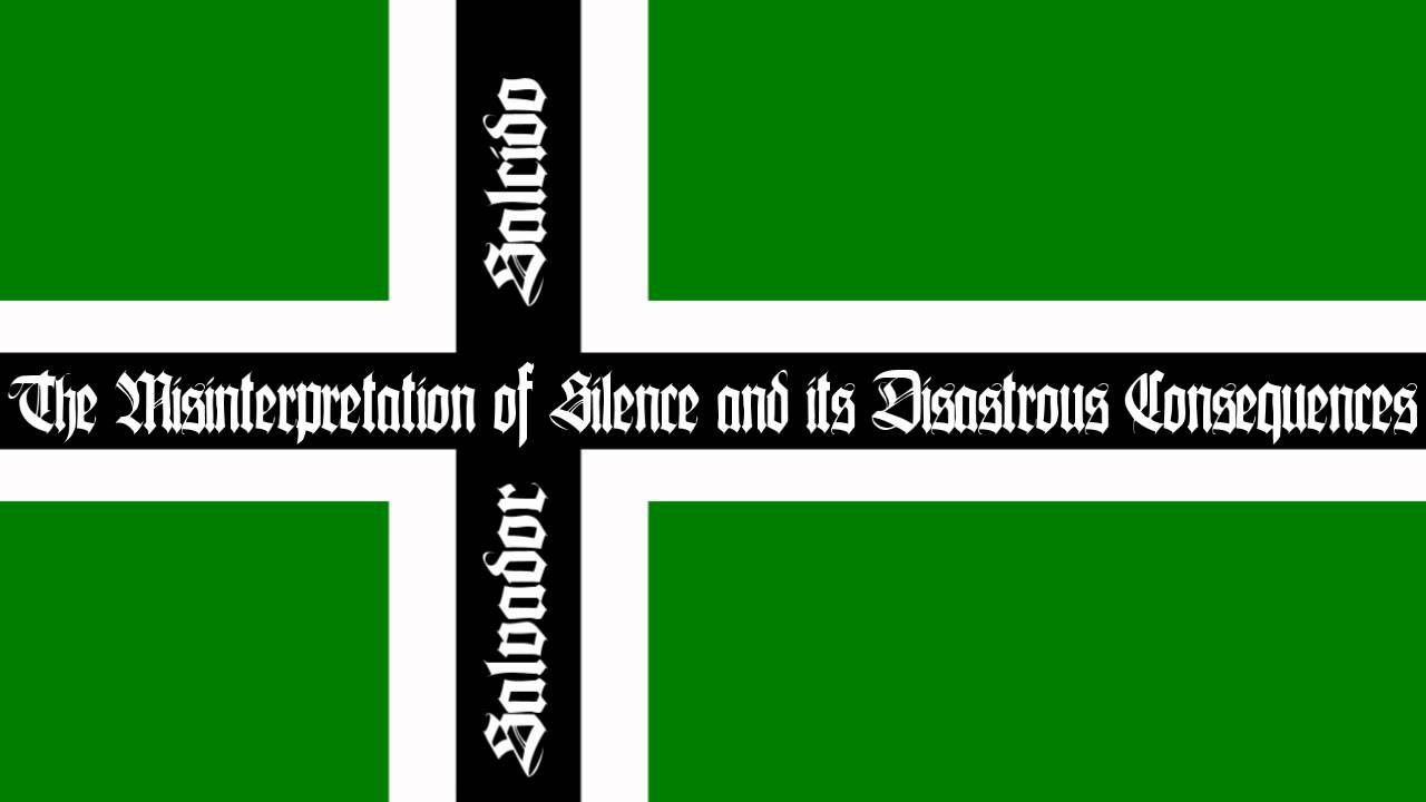 misinterpretation and its consequences This track at a glance misinterpretation of silence and its disastrous consequences by type o negative (1991) from the album slow, deep & hard (track #6.