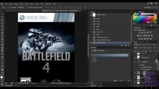 دروس فوتوشوب : كيفية إنشاء لعبة فيديو تغطية مثل Battlefield 4 في فوتوشوب CS6