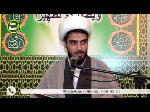Ağadadaş Müslümov İmam Rza (ə)ın mövludu 14082016