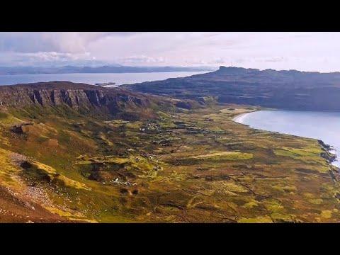 """60 Minutes"" visits Eigg, craggy isle off Scotland"