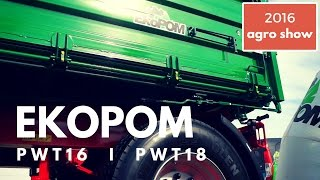 Przyczepy rolnicze EKOPOM na Agro Show 2016