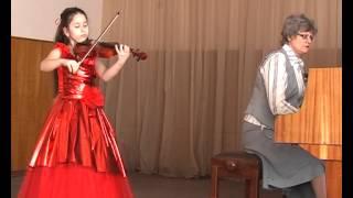 Ф.Зейц Концерт №1 скрипка Одарённые дети 2013