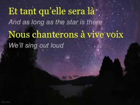 """Céline Dion - """"L''étoile"""" (ENGLISH TRANSLATION)"""