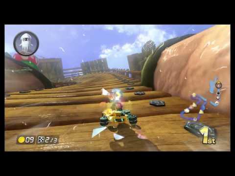 Hacked Mario Kart 8 Room