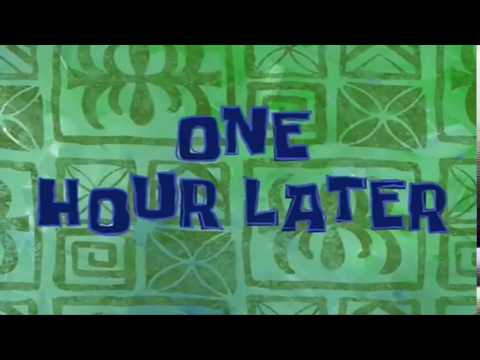 Spongebob Timecard One Hour Later