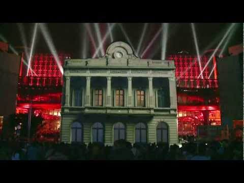 I LOVE EU - Belgian Presidency of the European Union - Video mapping