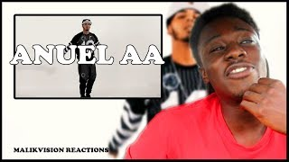 ANUEL AA REACTION! Anuel - Ayer ft. Dj Nelson [Official Video | 2018 LATIN MUSIC REACTION