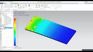 simple Beam  analysis | Basic beam simulation with NASTRAN solver  in NX siemens 10 PLM software