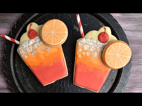 SHIRLEY TEMPLE DRINK COOKIES by HANIELAS