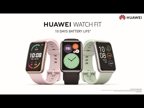 HUAWEI WATCH FIT | 10 Days Battery Life