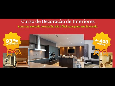 Curso de design de interiores online com certificado for Curso decoradora de interiores