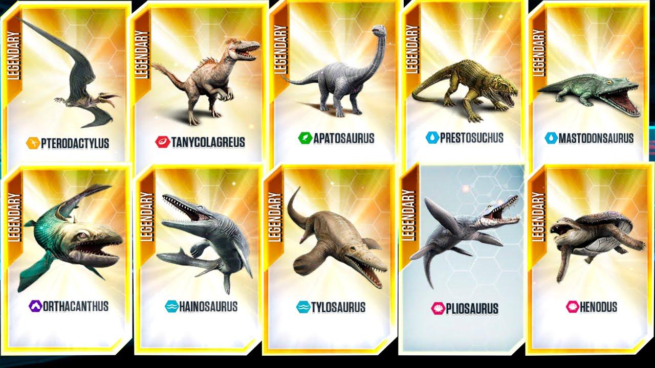 NEW VIP DINOSAURS! - Jurassic World The Game - *VIP