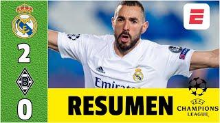 Real Madrid 2-0 Borussia ¡A octavos! KARIM BENZEMA es una máquina de hacer goles | Champions League