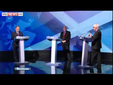Salmond And Darling Clash In STV Debate   Highlights