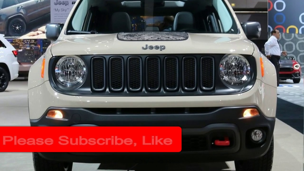 2019 Jeep Renegade Spied Changes Release Date Trailhawk