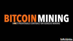 THE BEST MINING CONTRACT ON GENESIS MINING CURRENTLY IS THE BITCOIN CONTRACT. EXTREMELY PROFITABLE
