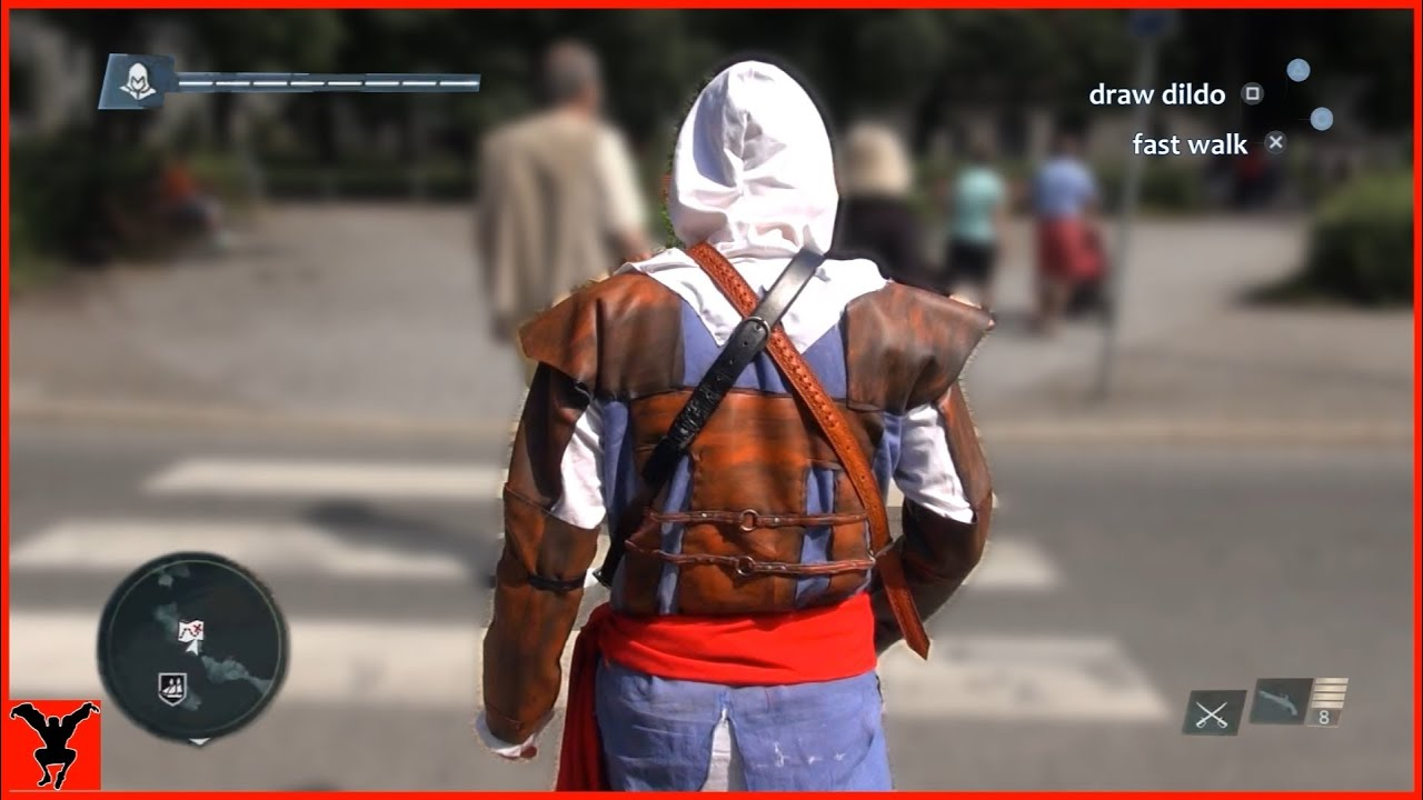 Assassin's Creed 4 Real Life - TEST - YouTube