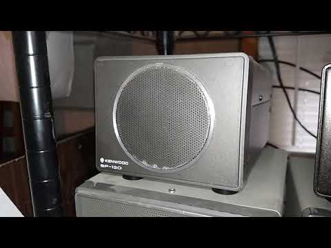Kenwood TS-120s with SP-120 speaker Amateur Ham transceiver