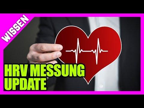 Update zur HRV Messung - Stress messen, Übertraining vermeiden und Regeneration