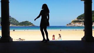 Sophie Stephenson Step Dancing in Donostia San Sebastian