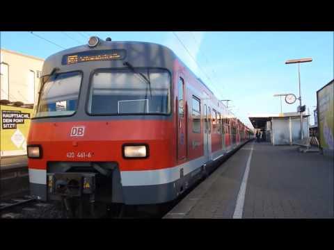 ET 420 - Abschied in Stuttgart   Teil 1/2 - Außenaufnahmen/Trainspotting
