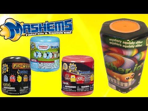 Slitherio Slither Minis Series 1! Pac-Man Mashems! Thomas & Friends Mashems! Cars 3 Mashems!