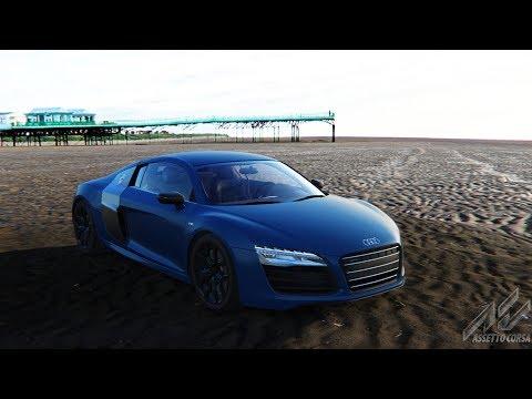 TR - Assetto Corsa Bölüm 4 # Audi R8 V10 Plus Arka Plan Tamamdır :))    (SNOPY V5H Direksiyon)