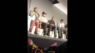 Straight Outta Compton Cast Apple Store Soho 8/4