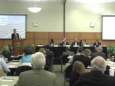 Legislative Panel Discussion: Education Reform - Evaluation, Tenure, and Seniority