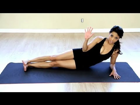 Exercising at Home to Reduce Your Stomach : LIVESTRONG - Fitness with Amber Nimedez