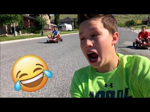 EPIC Dune Buggy Race -  Bryton Myler, Danny A Reyes & Ninja kidz tv!