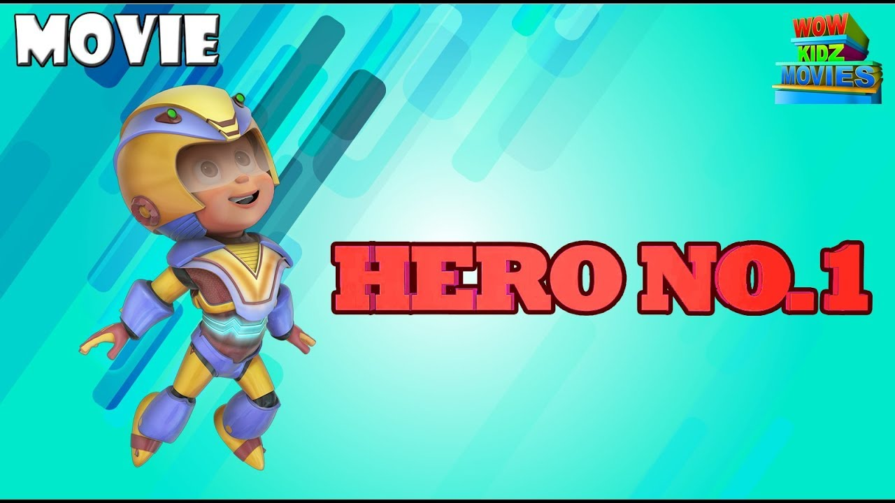 Vir: The Robot Boy - Hero No 1| Action Movie | Animated Movies For Kids | WowKidz Movies