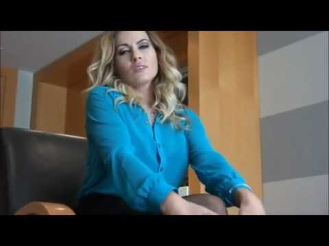 Sexy blonde secretary in mini skirt and pantyhose from YouTube · Duration:  3 minutes 51 seconds