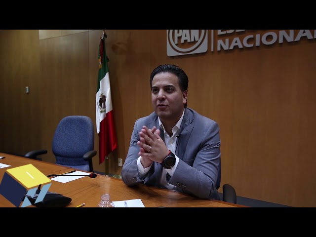 Damián Zepeda: Presidente nacional del PAN - Voto informado 2018