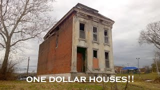 A Tour of ONE Dollar Houses for Sale!! St. Louis Edition!
