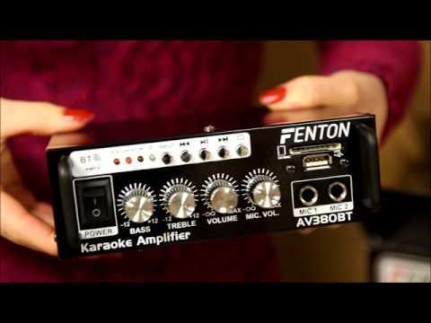 Fenton Karaoke Amplifier 80W - FEN103.145