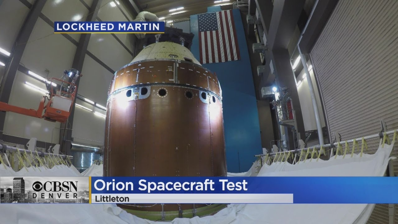 Lockheed Martin Performs Orion Spacecraft Test For NASA