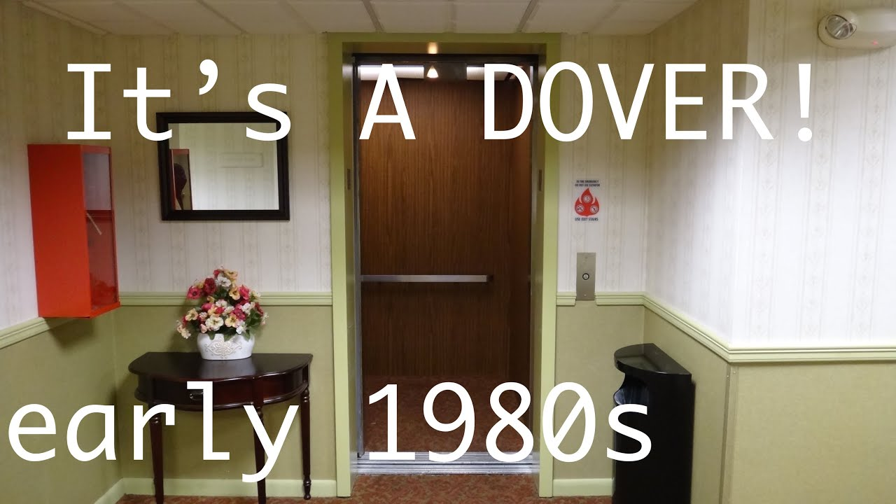 Vintage Dover Hydraulic Elevator @ Best Western Radford Inn Radford ...