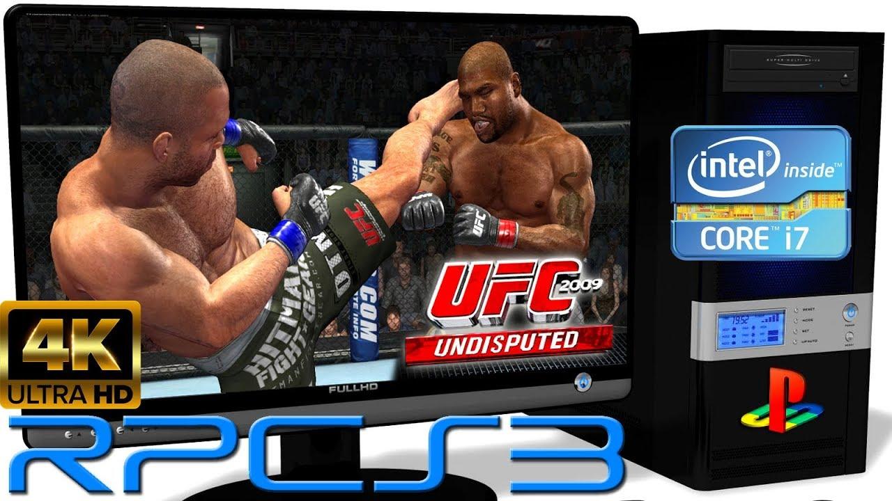 RPCS3 0.0.6 [PS3 Emulator] - UFC 2009 Undisputed [4K ... Ufc Undisputed 3 Ps3 Rom