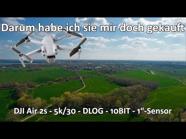 DJI Air 2s - Deshalb habe ich sie mir doch gekauft - Fotomonster und 5k - Meine Gründe für den Kauf