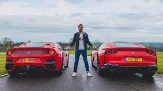 Ferrari F12 TDF vs Ferrari 812 Superfast