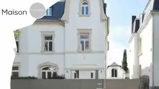 A vendre - Maison - Luxembourg-Limpertsberg - 7 chambres - 350m²