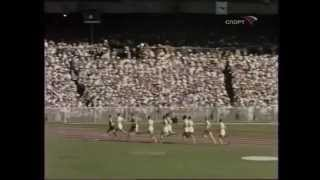 1956, Ronnie Delany, Olympic Games, 1500m Final, (Complete & in full color)