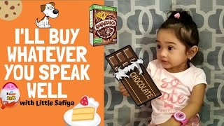 I'LL BUY WHATEVER YOU CAN SPEAK WELL   LEARN with Safiya
