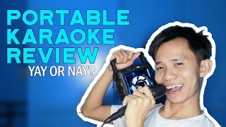 PORTABLE KARAOKE REVIEW: BS-106B Yay or Nay? | Lazada Philippines