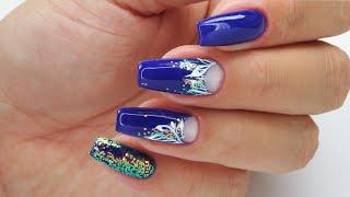 Ornament nails / Charbonne
