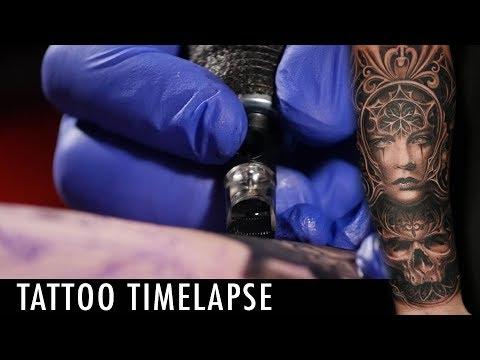 Tattoo Timelapse - Mumia