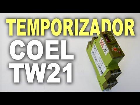 TW21 - Temporizador eletrônico programável multiuso Coel