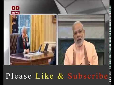 Donald Trump Meeting With Narendra Modi